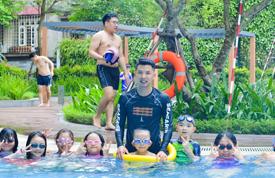 Học bơi tại Time CiTy park hill